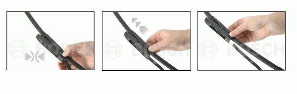снять щетку стеклоочистителя bayonet