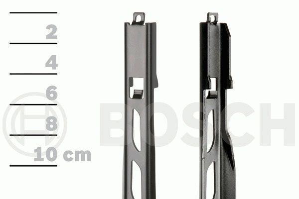 крепления бескаркасного стеклоочитителя top-lock